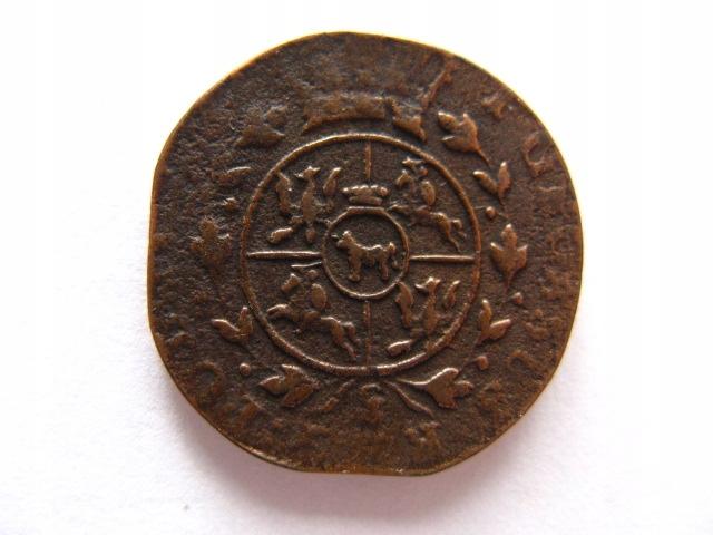 Grosz 1783 Poniatowski na monecie pruskiej stan 3