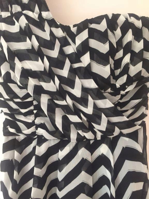 Nowa sukienka czarno biała H&M 34