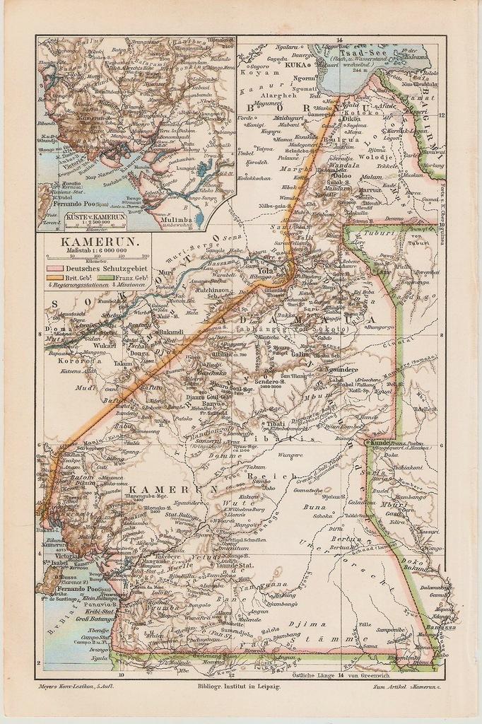KAMERUN  ROK 1899