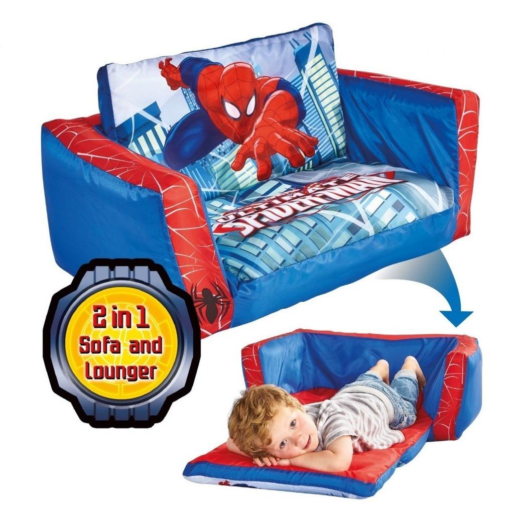 Dmuchana sofa Spiderman