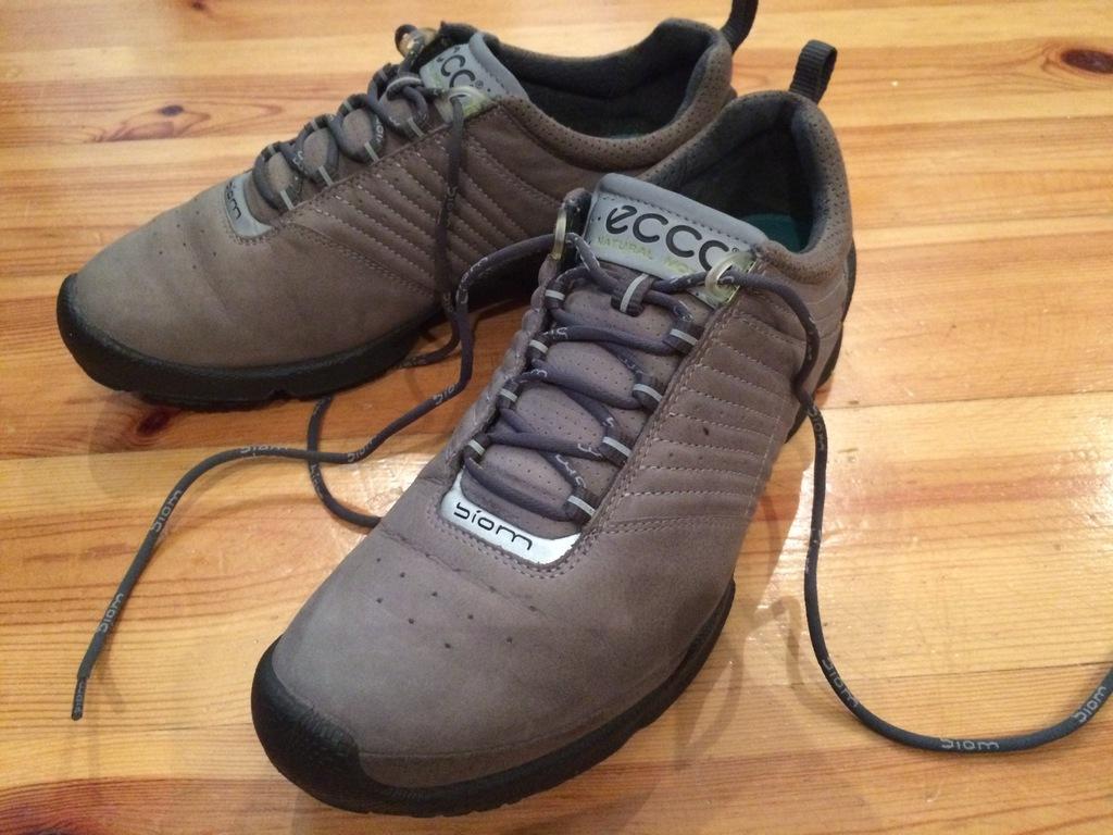 ECCO r. 39 Wk. 26 cm biom natural motion skórzane buty