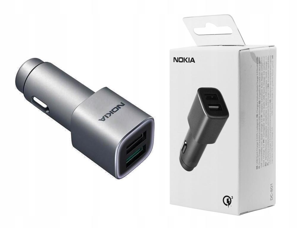 Lumia 640 / XL Ładowarka samochodowa Nokia QC 3.0