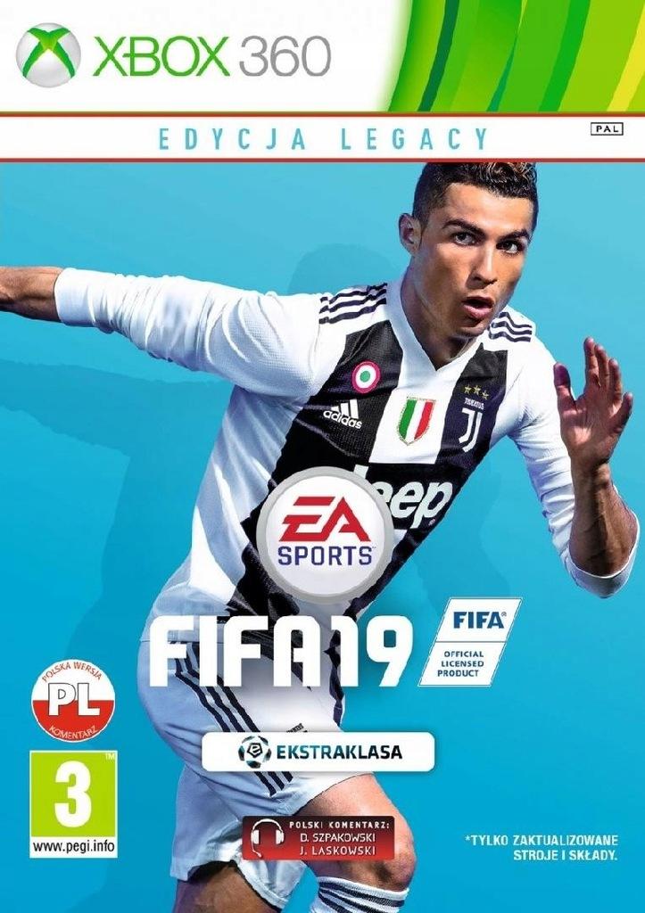 Ea Gra Xbox 360 Fifa 19 Legacy 7710900429 Oficjalne Archiwum Allegro