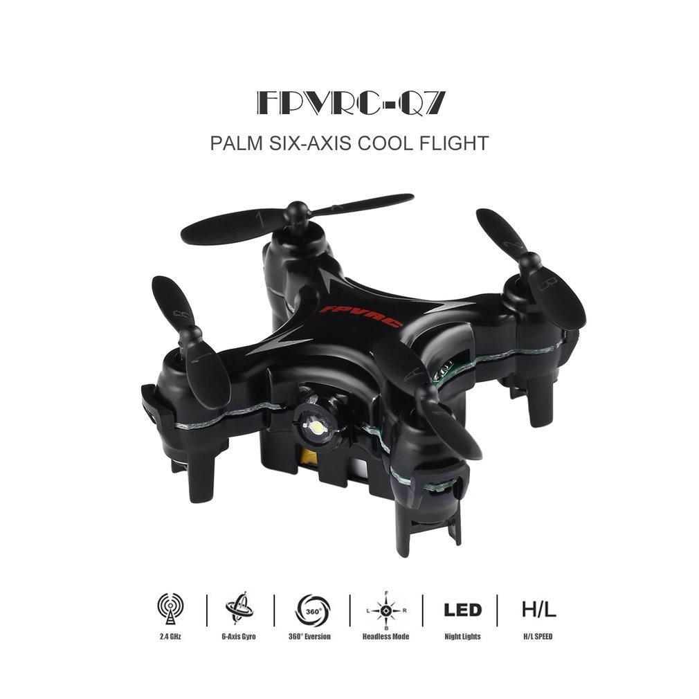 B165 Dron FPVRC Q7 RC 2.4G 4CH 360°Flip H/L