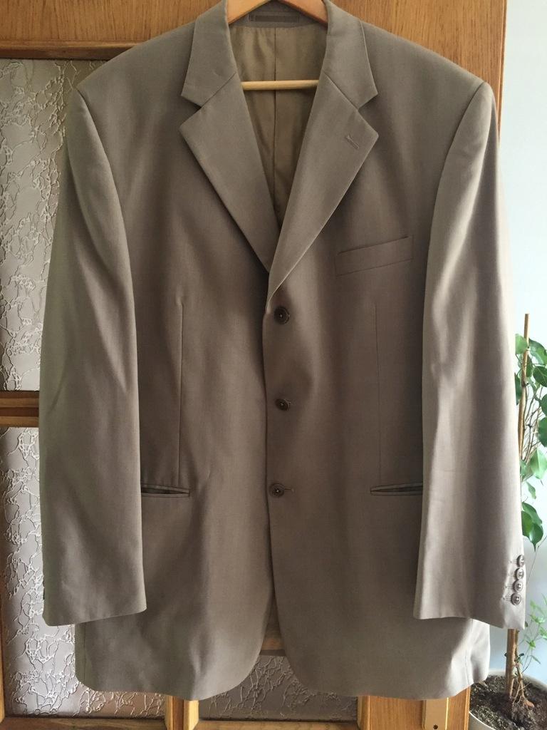 Wełniany garnitur ślubny Pierre Cardin