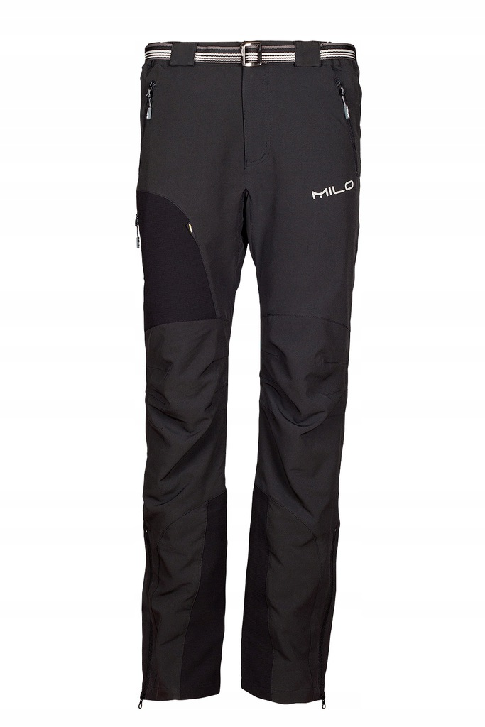 Spodnie trekkingowe Milo Uttar S black WYPRZEDAŻ!