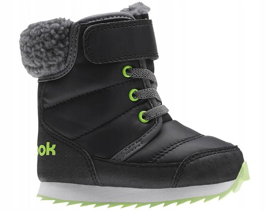 Buty Dziecięce Reebok Snow Prime BS7782 (Czarny