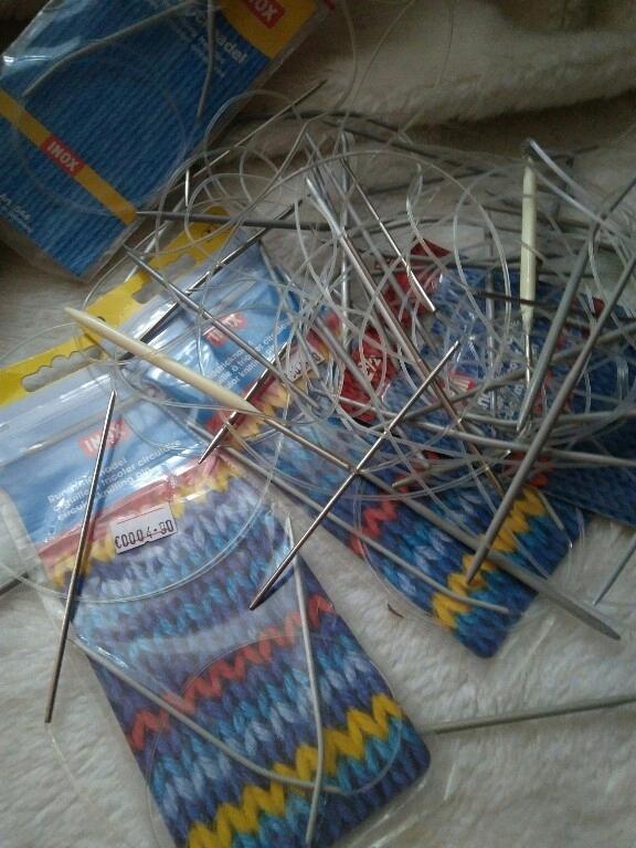 zestaw drut dziewiarskich na żyłce N2