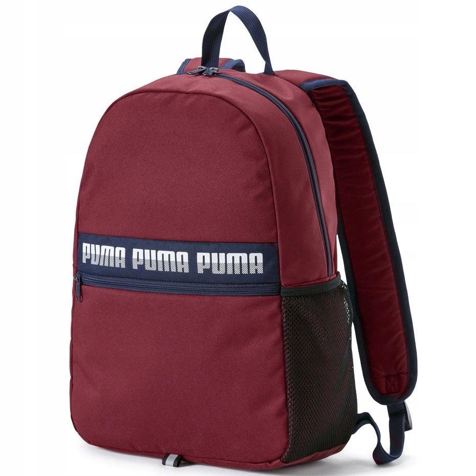 Plecak Puma Phase Backpack II bordowy 075592 03