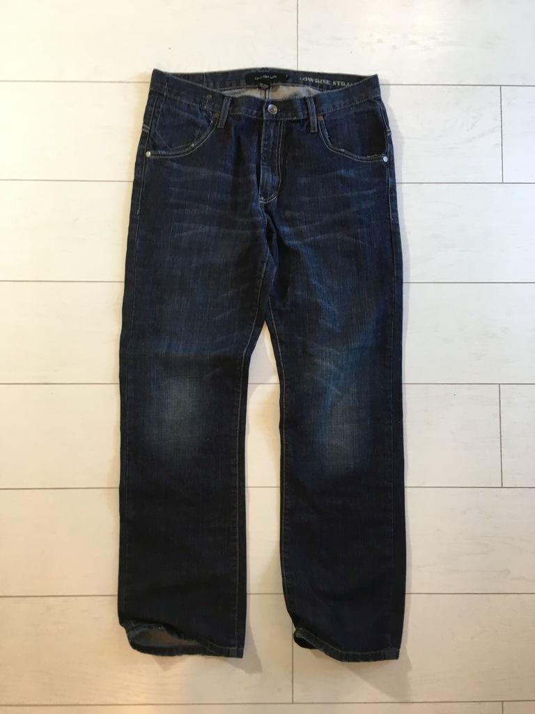 Jeansy Calvin Klein 33/32 Oryginalne spodnie jeans
