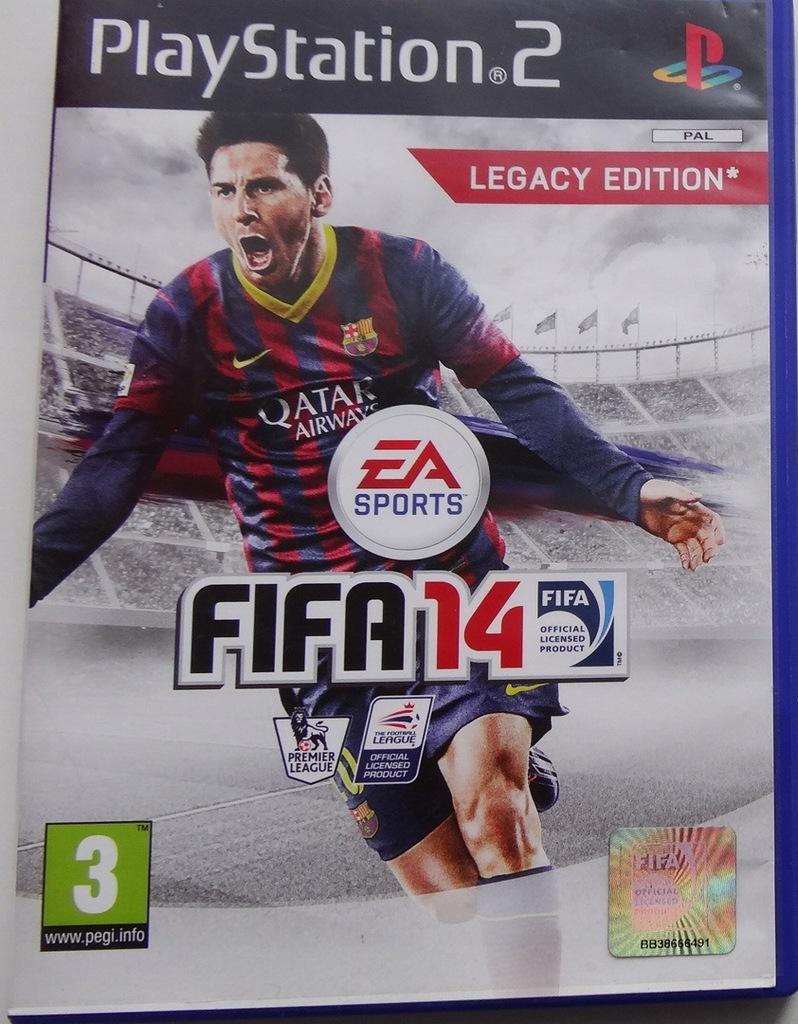 Gra Ps2 Fifa 14 Playstation 2 7589853930 Oficjalne Archiwum Allegro