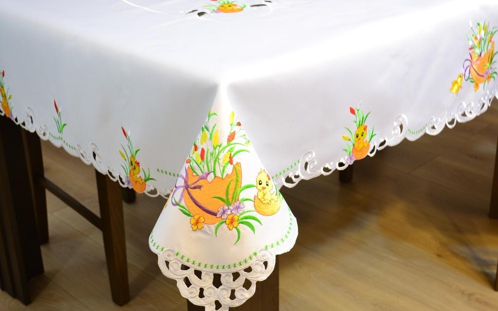 Obrus Swiateczny Serweta 85x85cm Wielkanocny Haft 7897335128 Oficjalne Archiwum Allegro