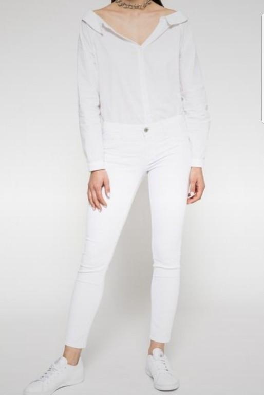 Spodnie białe Regular Waist Tally Weijl r. M