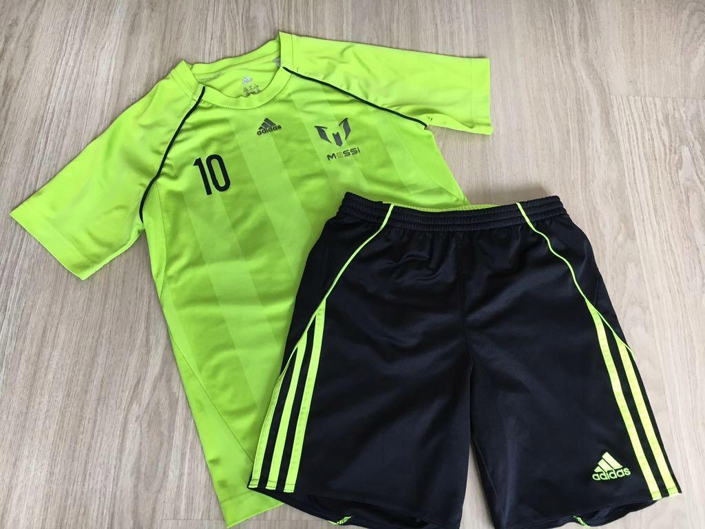 Adidas MESSI !!! Koszulka + spodenki 152