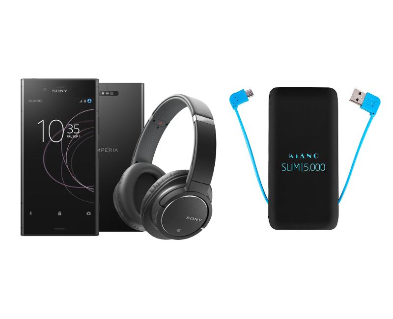 Smartfon Sony Xperia XZ1 Dual SIM 64GB + SŁUCHAWKI
