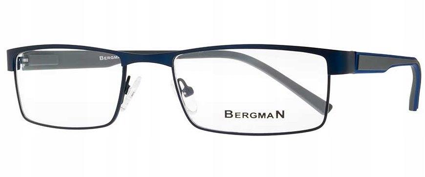 okulary oprawki męskie Bergman plus soczewki 7425377658
