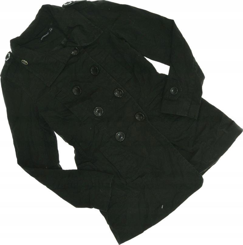 Czarny płaszczyk atmosphere 36