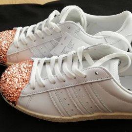 Adidas Superstar zlote przody rozmiar 39