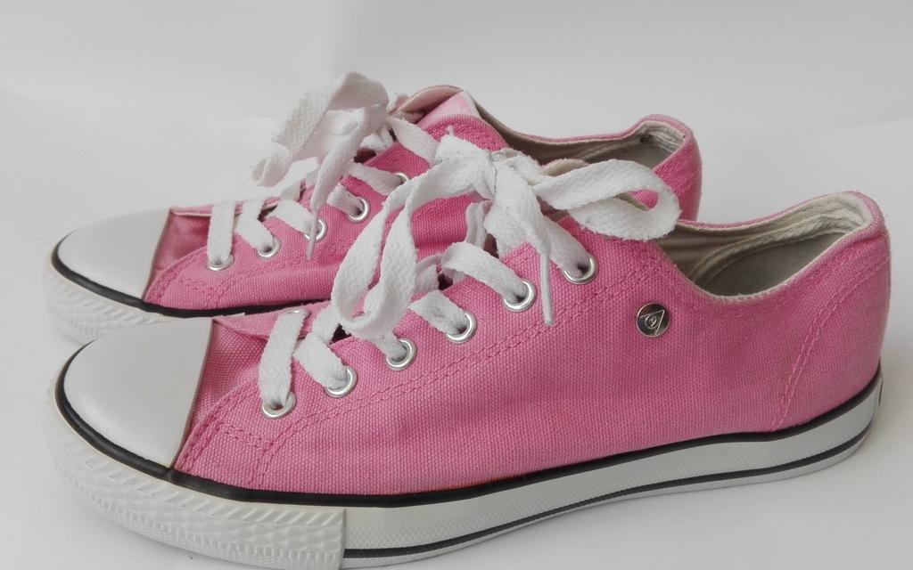 Dunlop canvas low różowe trampki w roz. 38 7255133890