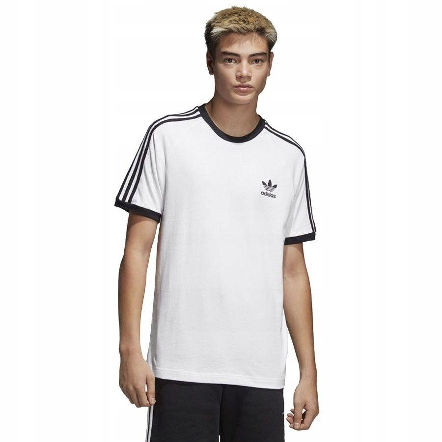 Koszulka adidas Originals 3 Stripes CW1203 L biały