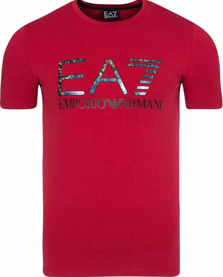 T-SHIRT EMPORIO ARMANI RED CARBON T1/S BESTSELLER