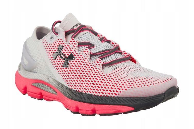 Białe Różowe Buty Sportowe Under Armour r.39