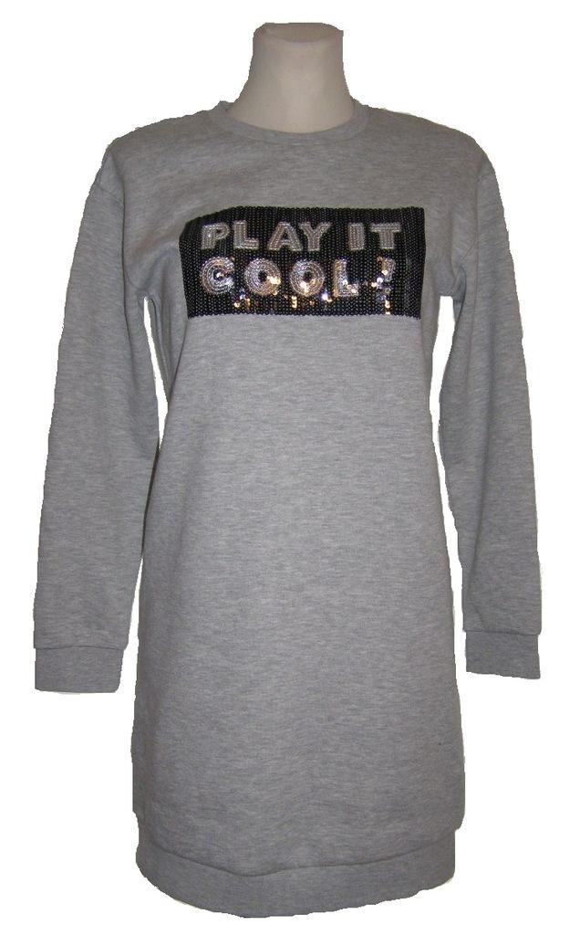 #C&A nowa dresowa sukienka bluza rozm.158/164
