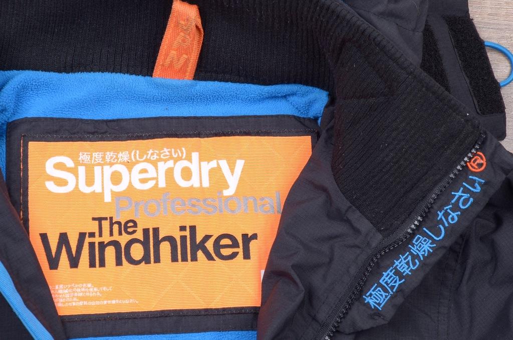 SUPERDRY Professional.The Windhiker KURTKA MĘSKA L