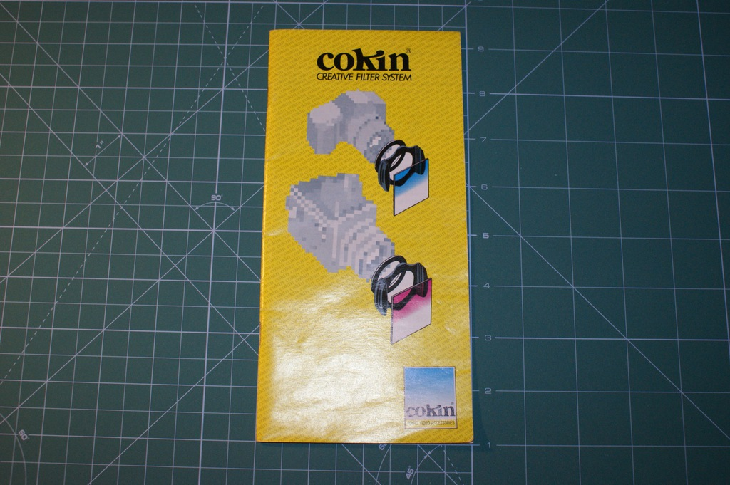 COKIN Creative Filter System, catalog