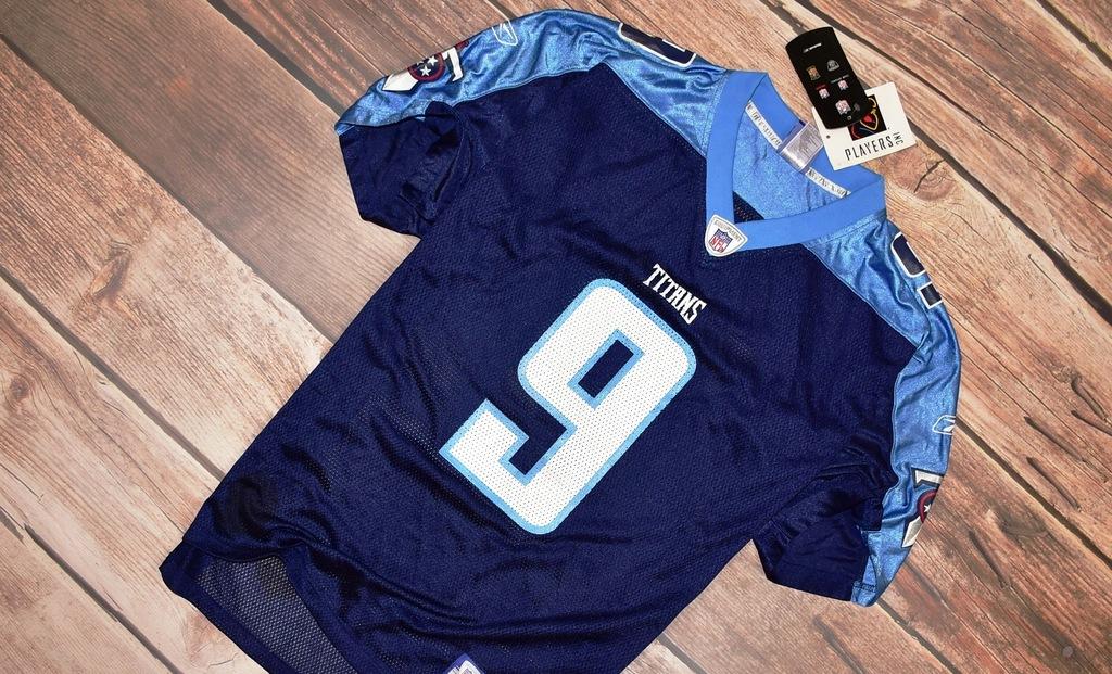 REEBOK _ TITANS _ McNAIR '9 _ NEW NFL SHIRT _ L