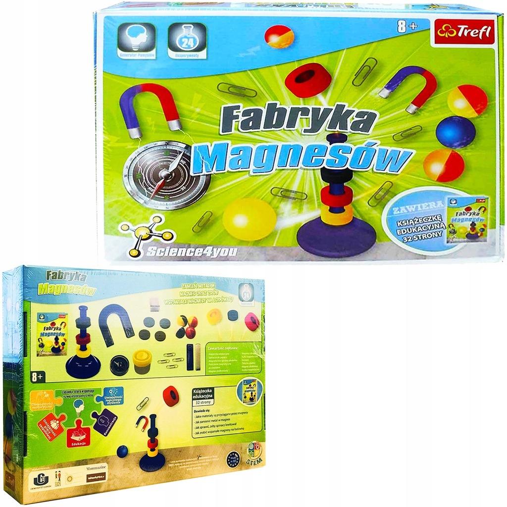 Trefl FABRYKA MAGNESÓW Science4You 7+ 60777