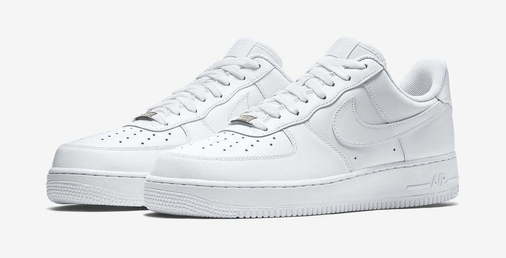 BUTY NIKE AIR FORCE LOW BIALE roz 40