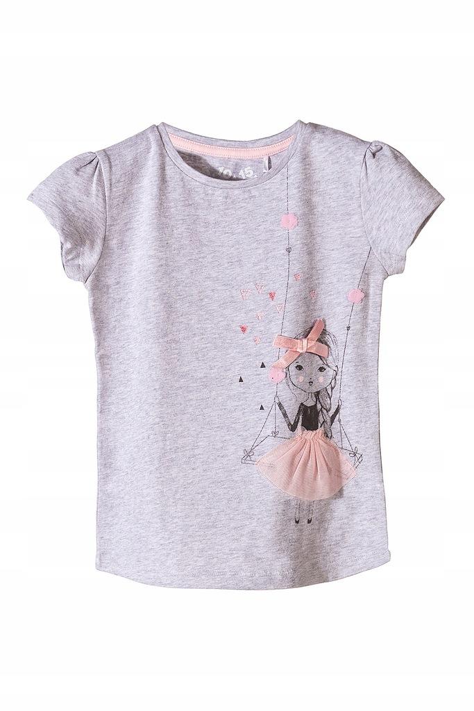 5.10.15. T-shirt dla dziewczynki 3I3508 110