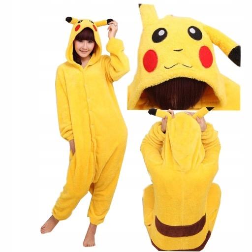 Pizama Jednoczesciowa Pikachu Pokemon Dziecka 98 7690249806 Allegro Pl