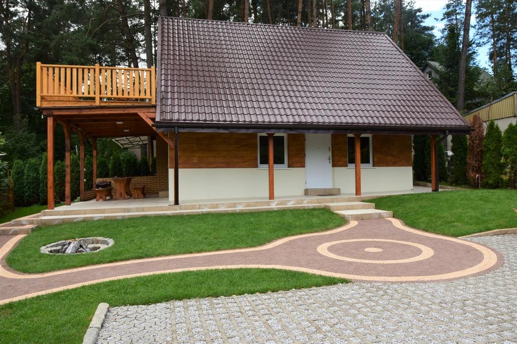 Sprzedam domek nad jeziorem kiełpińskim