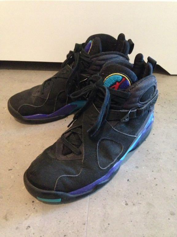 Buty Air Jordan VIII 8 Aqua 2007 retro sneakers AJ