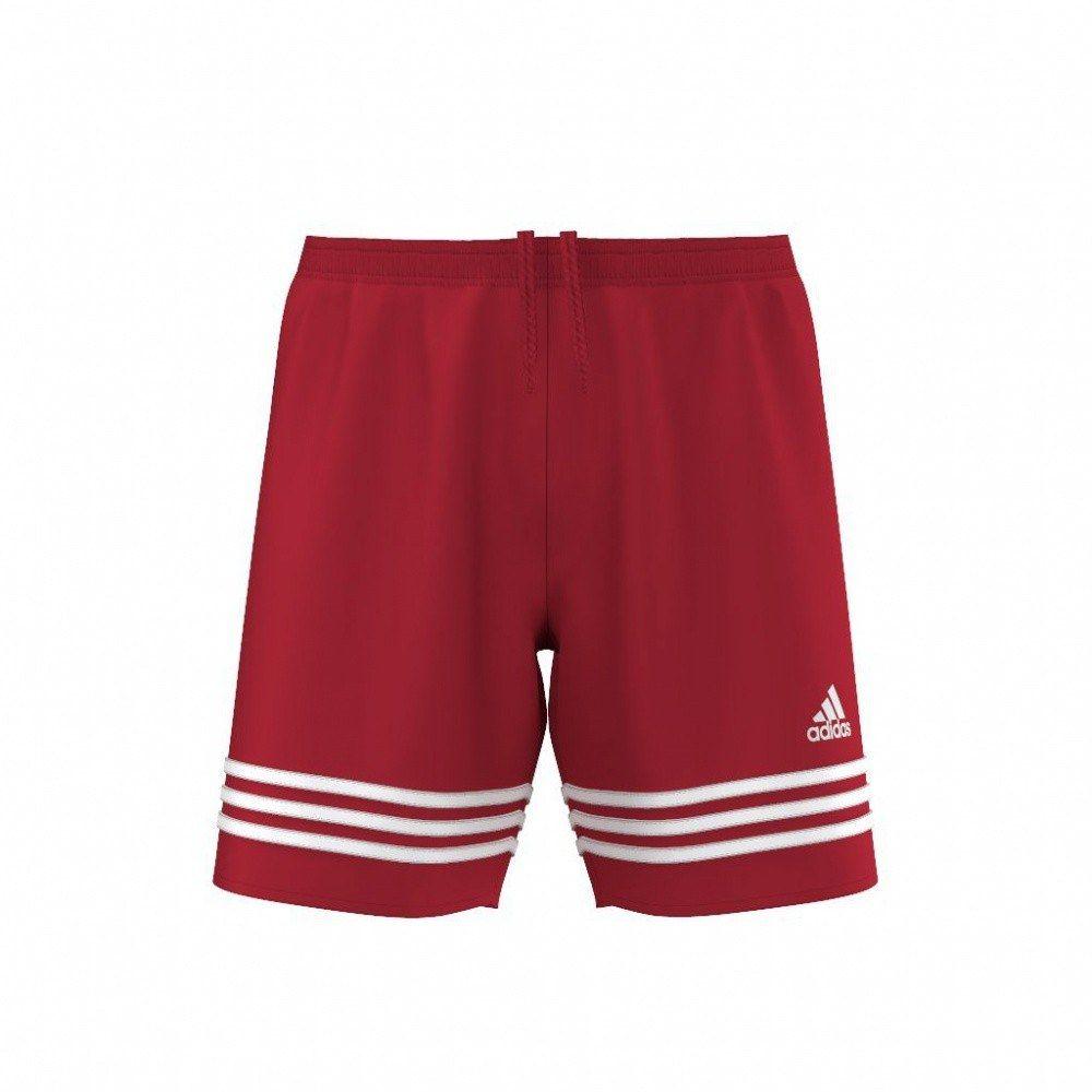Spodenki Męskie Piłkarskie Adidas czerwone L