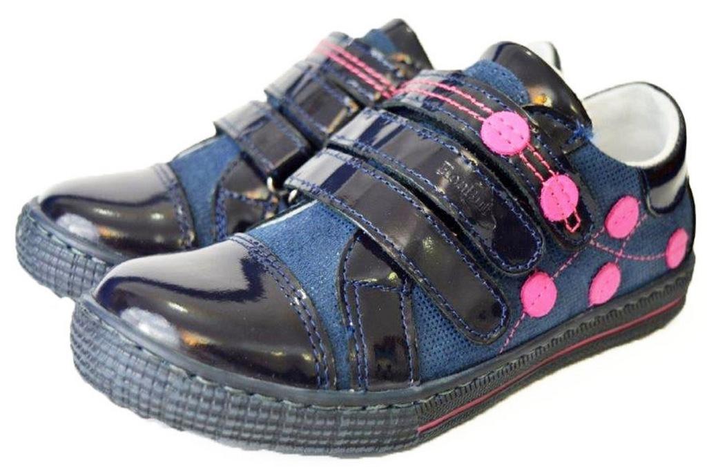 buty półbuty dziewczęce RENBUT 33 4324 skóra R. 32
