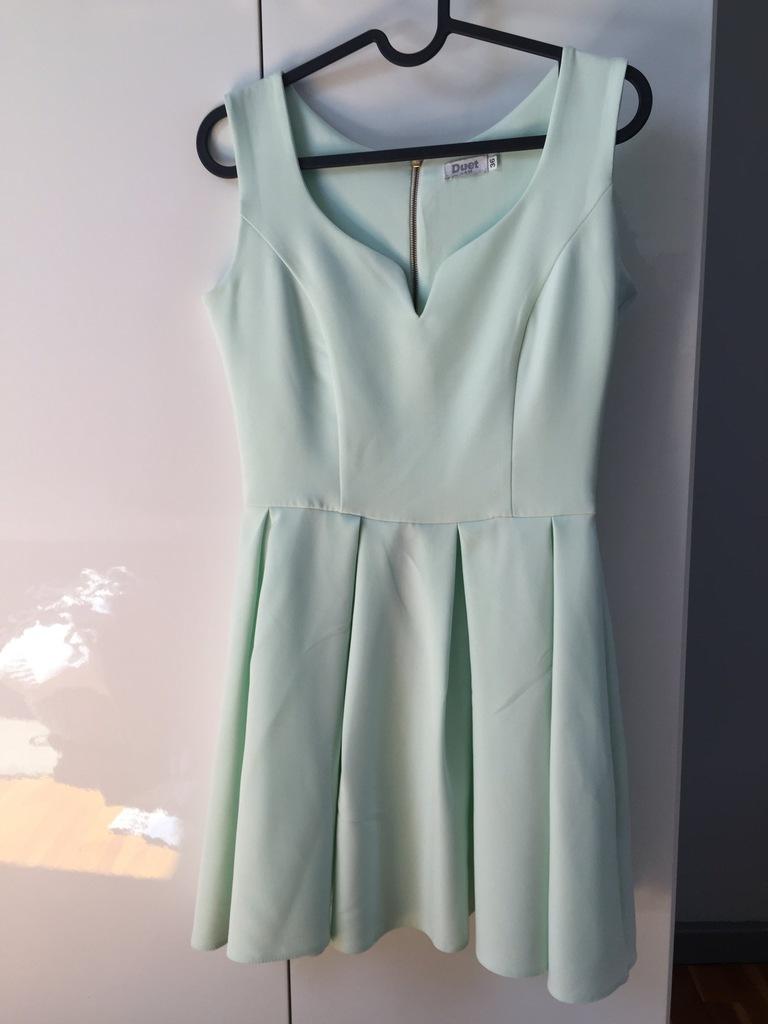 Sukienka elegancka DUET A&M rozm 36 jak now