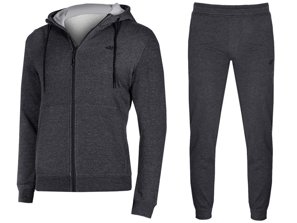 4F Dresy Męskie Komplet Bluza Spodnie L18 XXL