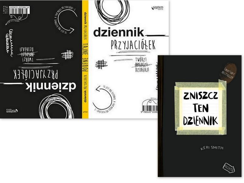 Dziennik Przyjaciolek Zniszcz Ten Dziennik Zestaw 5964360800 Oficjalne Archiwum Allegro