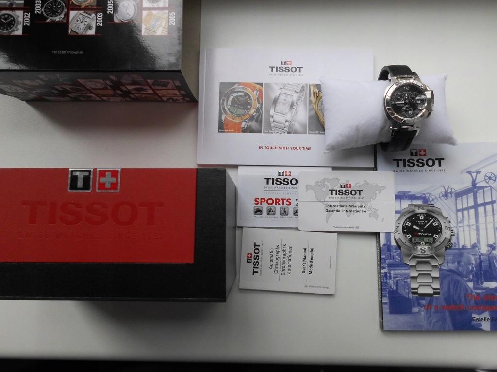 Nowy Zegarek Tissot TRace