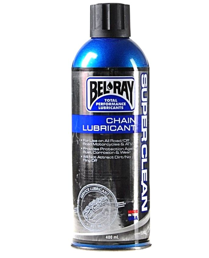 SMAR DO ŁAŃCUCHA BEL-RAY SUPER CLEAN 400 ml. PROM