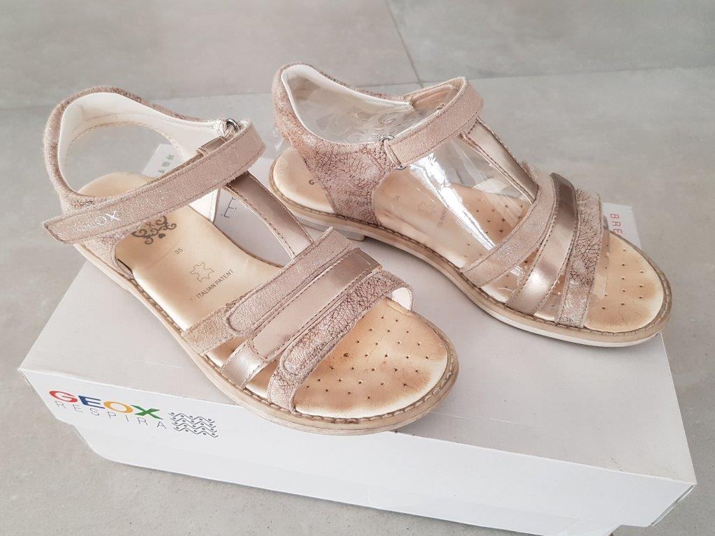 Sandałki dziewczęce GEOX 35