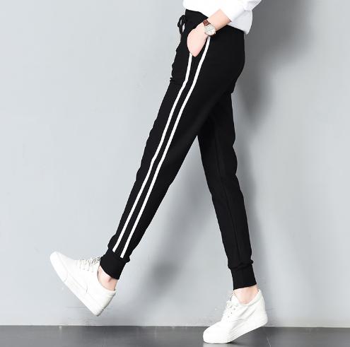 spodnie dresowe z paskiem