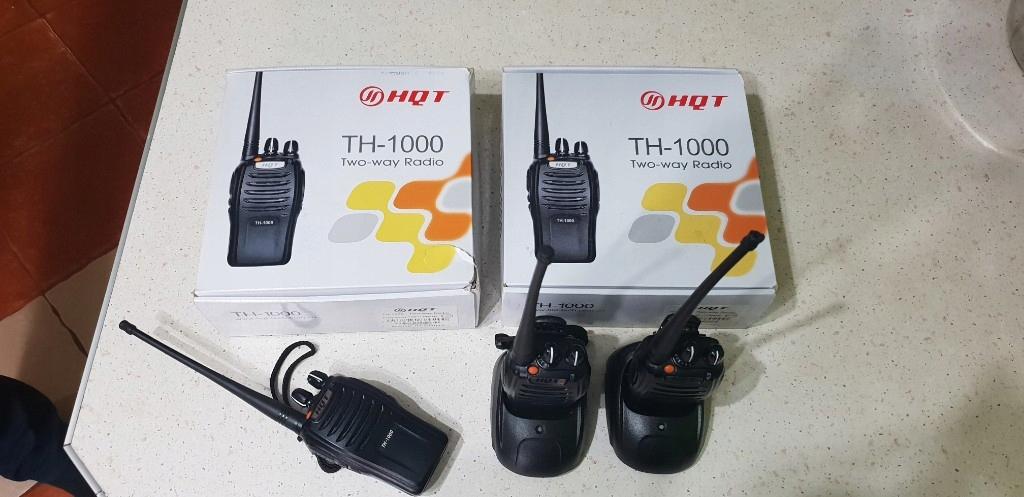 5 radiotelefonów HQT TH-1000