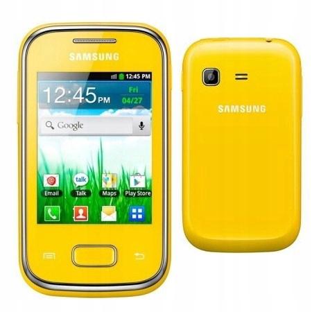 Samsung S5300 Galaxy Pocket Zolty Pl F Vat23 7530334200 Oficjalne Archiwum Allegro
