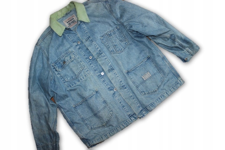 Levis Vintage L Modna kurtka katana jeans XL