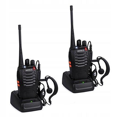 E313 ESYNiC 2szt Walkie Talkie UHF Radio 400-470MH