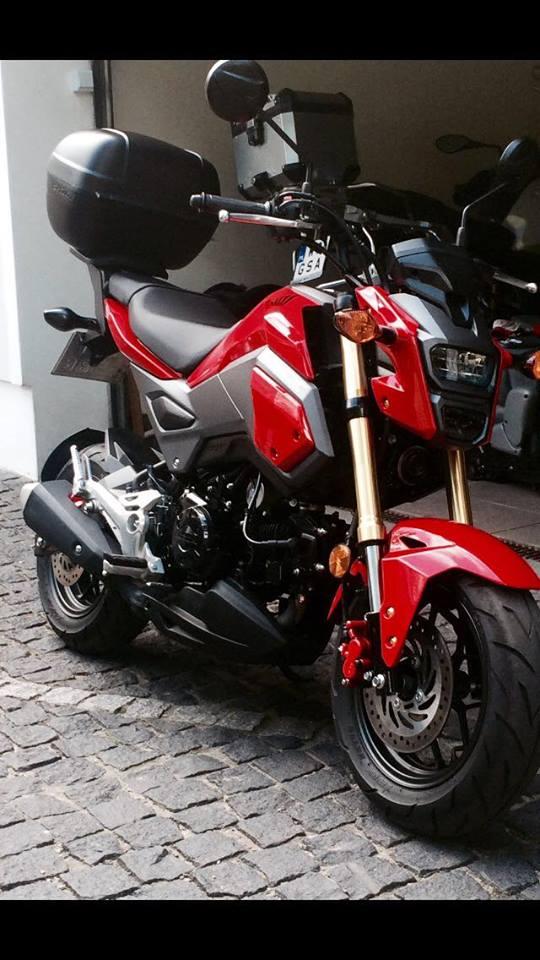 Honda Msx 125 7253242060 Oficjalne Archiwum Allegro